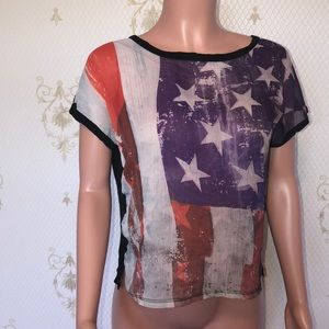 American flag 🇺🇸Top by Forever 21